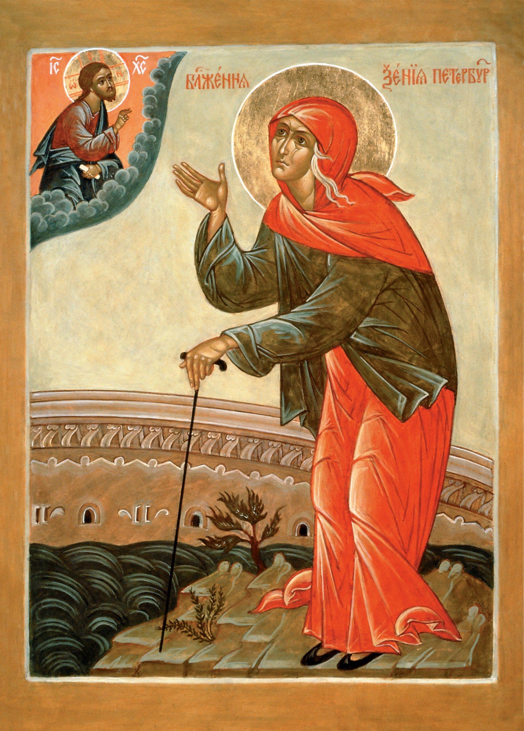Bildergebnis für Sfânta Cuvioasă Xenia, cea nebună pentru Hristos